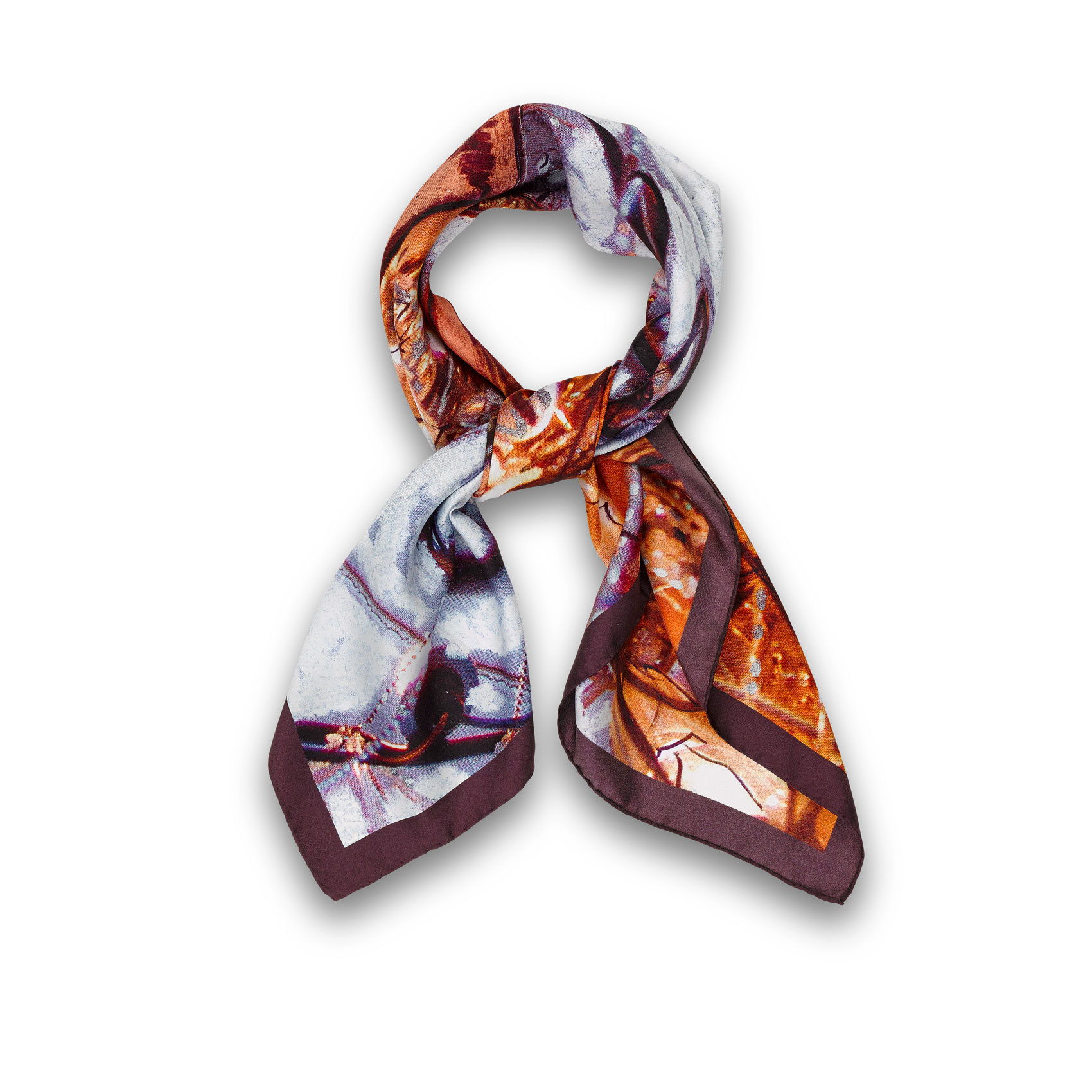 Zermatt Unplugged Foulard, Silk, Twill