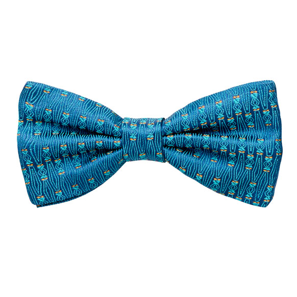 Torre Bow Tie Mare 100% Silk, Jacquard