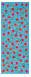 Poppy Scarf Cielo 67% Cotton, 33% Silk