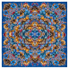 Kaleidoscope Foulard Royal